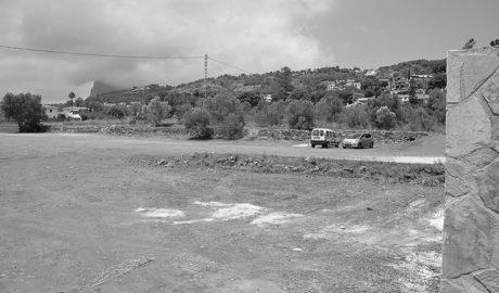Xàbia cierra el nuevo parking de Duanes para reacondicionarlo