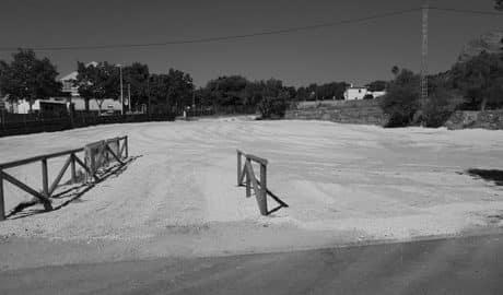 El parking de Duanes de Xàbia, de nuevo abierto al público tras los trabajos de reacondicionamiento