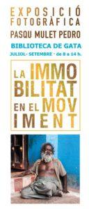 Exposició fotogràfica: 'La immobilitat en el moviment' per Pasqu Mulet Pedro -Gata de Gorgos- @ Biblioteca de Gata