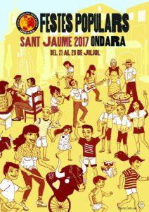 Programa de les Festes de Sant Jaume 2017 -Ondara- @ Ondara