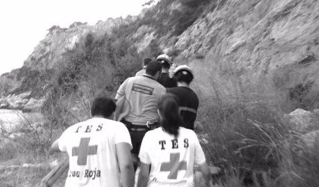 Enésimo rescate por saltar al mar desde los acantilados de Xàbia