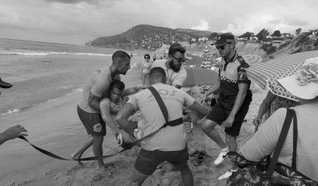 El PSPV denuncia las deficiencias del servicio de socorrismo en las playas de Calp