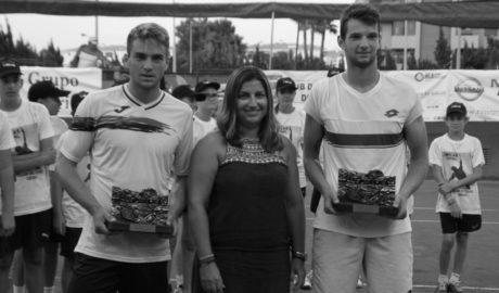 Pedro Martínez e Ivan Gakhov vencen en la final del dobles del Orysol