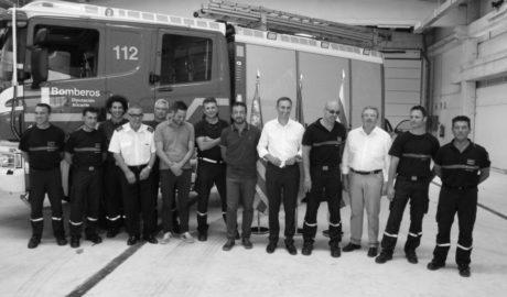 El subparque de Benissa se inaugura con la sexta parte de los bomberos previstos