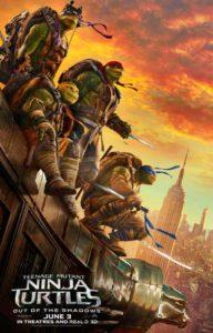 La Mar de Cine: 'Tortugas Ninja fuera de las sombras' Dir.: Dave Green -Benissa- @ Playa La Fustera, Benissa