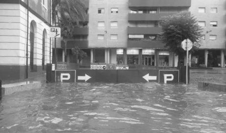 Lluvias torrenciales en la Marina Alta provocan inundaciones en Dénia