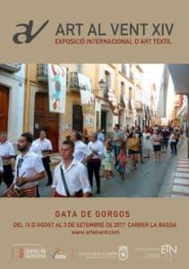 'Art al Vent': Exposición Internacional de Arte Textil -Gata- @ calle la Bassa