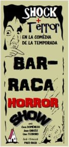 "Teatre: ""Barraca Horror Show"" per Circorama Teatre -Orba- @ Plaça de la Pilota, Orba"