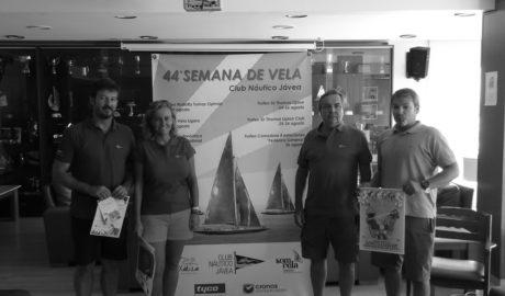 Cuatro competiciones deportivas llenarán de vela la bahía de Xàbia en la 44º Semana de la Vela