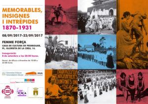 Exposició: 'Memorables, Insignes i Intrèpides' -Pedreguer- @ Casa de Cultura de Pedreguer