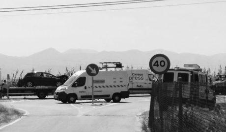 Otro grave accidente en la N-332 entre Pego y Oliva: cuatro heridos tras un choque frontal