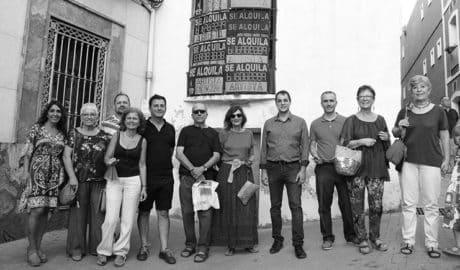 Las calles de Ondara se llenan de arte con una nueva muestra de intervenciones plásticas en la comarca