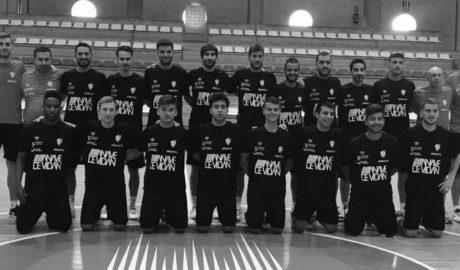 Blai Pascual ya entrena con el Santiago Futsal de Primera División