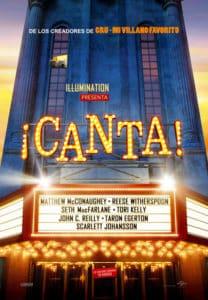 """Cinema al carrer: """"Canta"""" Dir.: Garth Jennings -Benitatxell- @ Placeta de l'Església, Benitatxell"""