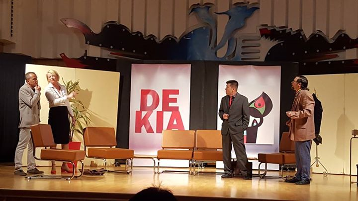 """DEKIA. L'ENTREVISTA DE TREBALL"" (Farfullit Teatre)"