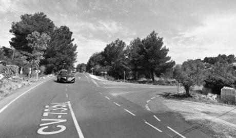 Malestar en Jesús Pobre por el proyecto de la Diputación para hacer 8 rotondas en la carretera a Xàbia