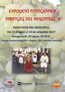 Miratges del Moscatell II - Exposició Fotogràfica.Teulada