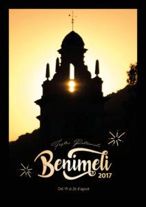 Programa de les Festes de Benimeli 2017 @ Benimeli