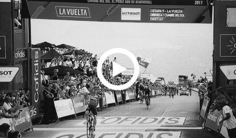 Lo que RTVE mostró de la Marina Alta gracias a La Vuelta