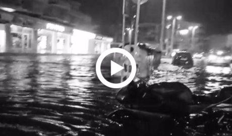 [VÍDEO] El caos se apodera de l'Arenal de Xàbia tras las fuertes lluvias