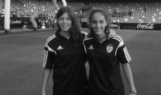 Gema Soliveres, la nueva perla del fútbol xabiero, que ya ha debutado con el Valencia CF Femenino