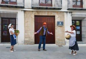 Visita teatralitzada pel centre de Benissa @ Lloc d'inici: Plaça Portal, 1, Benissa