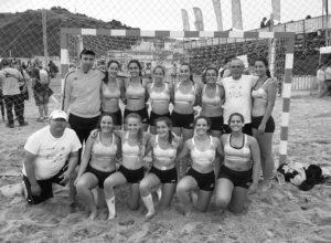 Los equipos de balonmano playa de Xàbia no logran igualar los resultados en el Campeonato de España