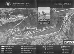 El Poble Nou de Benitatxell informará con folletos sobre el recorrido de la etapa de la Vuelta con meta en Puig Llorença