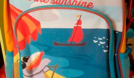 Sorteo de una mochila infantil de Frozen de la juguetería Fantasy World de Dénia