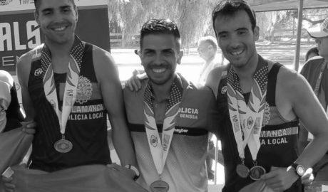 Antonio Morant logra el subcampeonato por equipos en la media maratón del Mundial de Policías y Bomberos