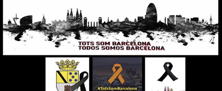 Toda la Marina Alta se solidariza con Barcelona y convoca concentraciones de repulsa del atentado