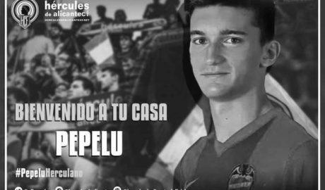 Pepelu, cedido al Hércules de Segunda B