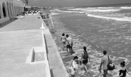 [LA FOTO] El temporal deja casas de Les Deveses de Dénia en el mar