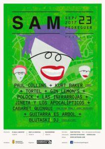 Pop rock: Sam Festival 2017: Paul Collins,Tórtel,Pollock,Guitarra es Árbol -Pedreguer- @ Pedreguer