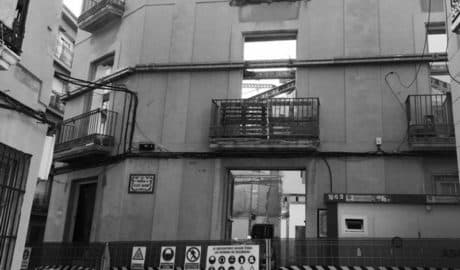 Fomento paraliza las obras de la casa de Sant Josep en Dénia por discrepancias técnicas con el ayuntamiento