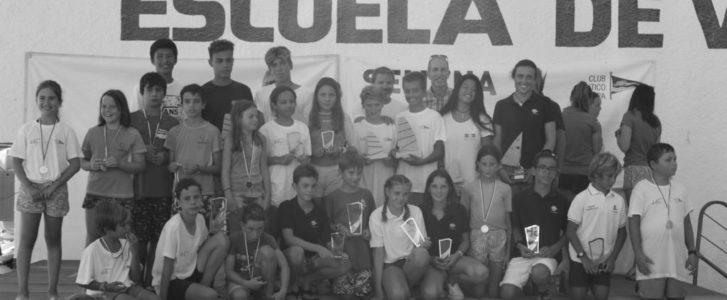 Cinco oros para el Club Náutico Jávea en el Trofeo Rodolfo Tomás de optimist y vela ligera