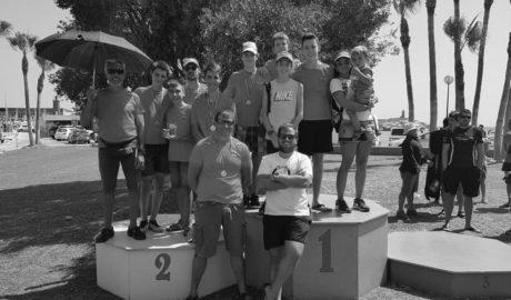 Juan Carlos Pérez, Paulino Llobell y Jorge López, oro en el Autonómico de Kayak de Mar