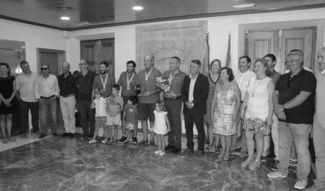 La tripulación del 'Clave de Luna' se cuelga la medalla del mundial de pesca....nueve meses después de ganarlo
