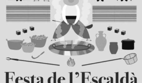 Jesús Pobre celebra una nueva Festa de l'Escaldà con 700 kg de uva moscatell 100% local