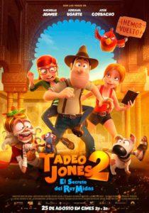 Cine: 'Tadeo Jones 2. El secreto del Rey Midas' Dir.: Enrique Gato -Benissa- @ Salon de actos municipal, Benissa