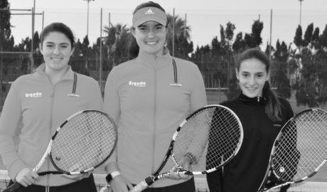El equipo infantil femenino del Club de Tenis Dénia, a por el Campeonato de España