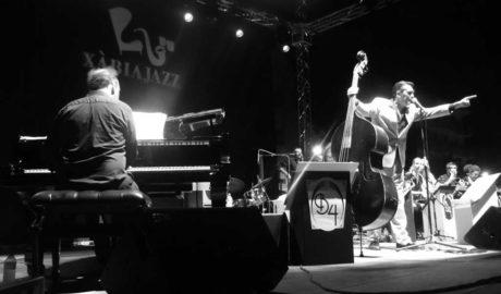 Aforo completo en la segunda jornada del Festival Xàbia Jazz con la Barcelona Big Blues Band