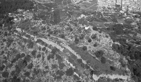 Las fortalezas islámicas alzadas en la Marina Alta en tiempos de guerra