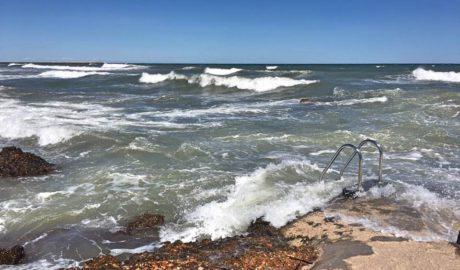 [LA FOTO en les xarxes] La mar torna a colpejar el litoral de la Marina Alta
