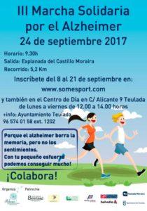 II Marcha Solidaria por el Alzheimer. Semana del Alzheimer -Teulada Moraira- @ Castillo de Moraira