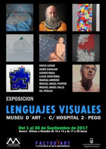 Exposición: 'Lenguajes visuales' de varios autores -Pego- @ Museu d'Art, C/ Hospital 2, Pego