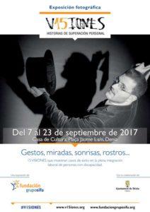 Expocición fotográfica: '15 visiones. Historias de superación personal' de Quim Puig y Romuald Gallofré -Dénia- @ Casa Municipal de Cultura, Dénia
