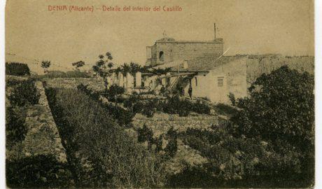 Viaje a la época en la que el Castillo de Dénia era un gran campo de viña moscatel