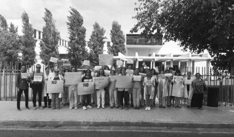 Els treballadors de l'Hospital es mobilitzen per exigir que no es torne a privatitzar el laboratori