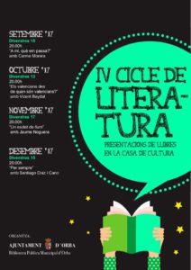 Presentació de la novel·la 'Per sempre' de Santiago Diaz i Cano -Orba- @ Casa de la Cultura, Orba